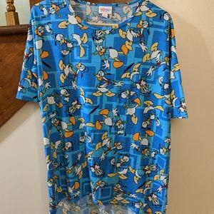 Disney lularoe shirt XS